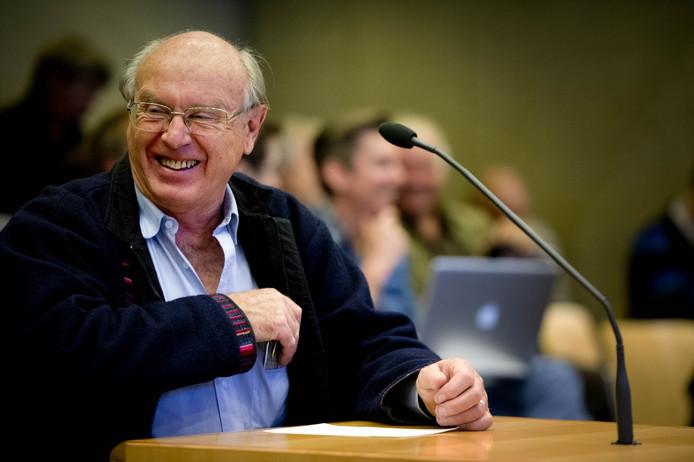 Albert Heringa tijdens een eerder rechtszaak