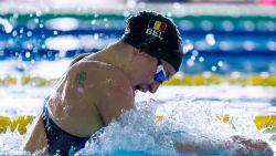 Fanny Lecluyse zevende in finale 50 meter schoolslag op EK kortebaan, aflossingsploeg naar finale vrije slag