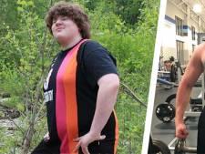 Nate viel zestig kilo af in één jaar tijd met Arnold als inspiratie