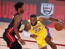 LeBron James refuse tout emballement des Lakers après la victoire contre Miami