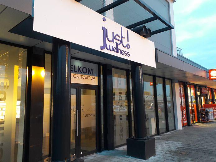 De vestiging van Just Wellness in Den Bosch.