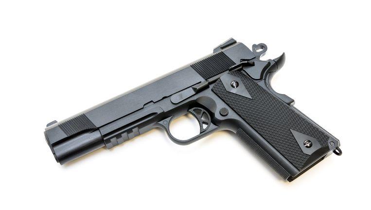 Volgens het OM was het pistool niet doorgeladen Beeld ANP