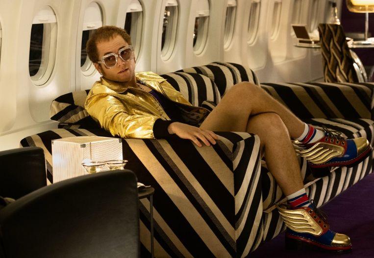 Een beeld uit 'Rocketman', de biopic over Elton John.
