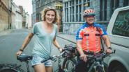Voetbalster fietst haar maidentrip