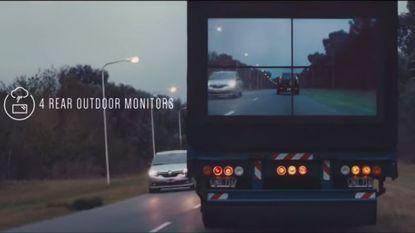 Samsung maakt trucks doorzichtig voor veiliger voorbijsteken