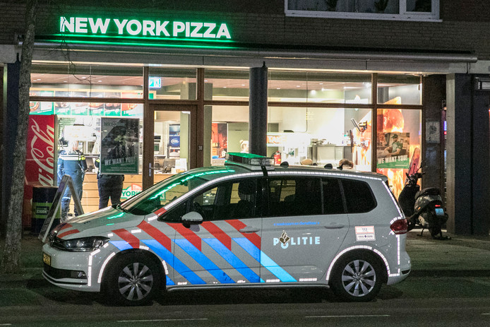 Overval New York Pizza.