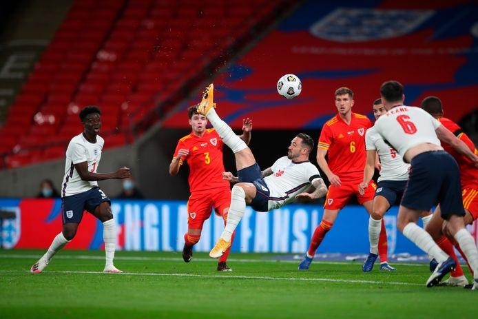 Comme Conor Coady et Dominic Calvert-Lewin, Danny Ings a inscrit son tout premier but avec l'Angleterre contre le Pays de Galles.