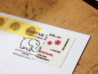 Oostenrijk verkoopt coronapostzegels van toiletpapier
