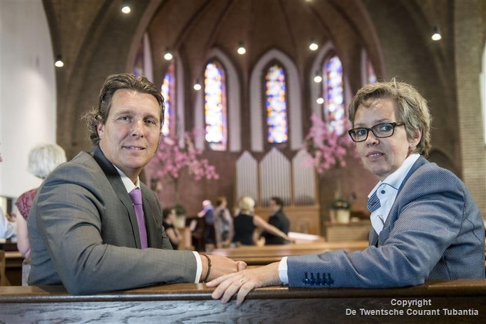 Ton Wennink en Gerry Leferink.