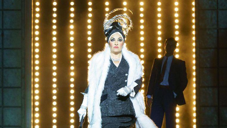 Ria Jones als Norma Desmond in Sunset Boulevard. 'Andrew beloofde me de rol voor als er ooit een revival zou komen.' Beeld Manuel Harlan