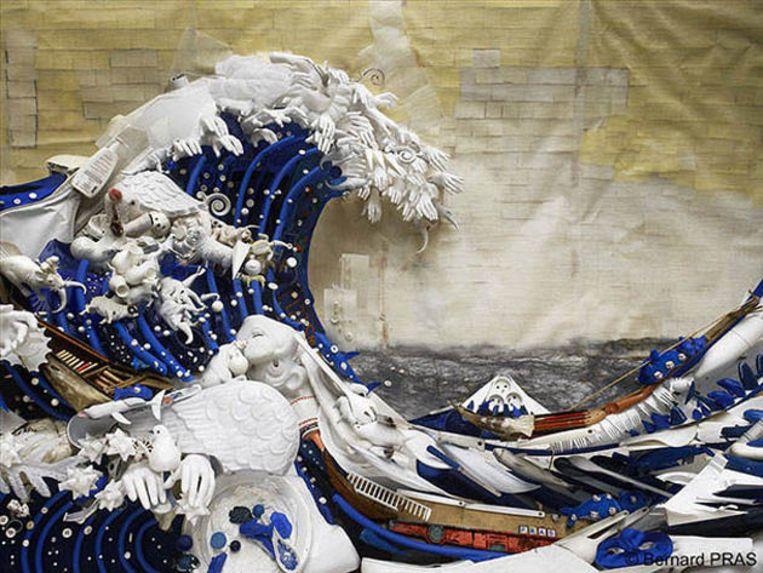 'De Grote Golf van Kanagawa' van Katsushika Hokusai
