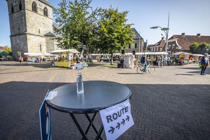 De organisatie van het kunstfestival Ratjetoe had maatregelen getroffen om ervoor te zorgen dat de bezoekers de RIVM-richtlijnen konden naleven.