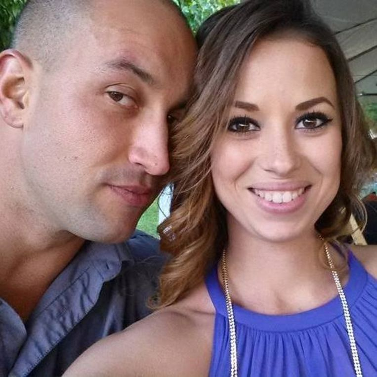 Krystil Kincaid en haar man Zach.