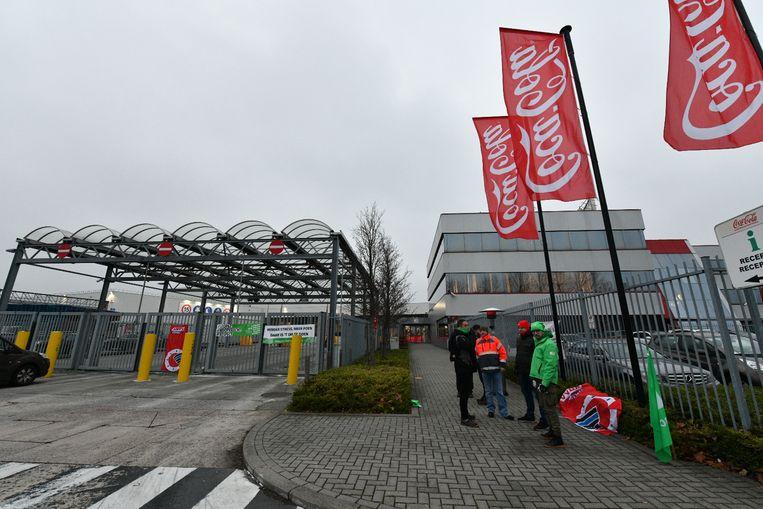 La sucursal de Coca-Cola en Wilrijk, por ejemplo, está completamente en silencio.