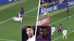 Na de Clásico: Semedo stuurt op grandioze wijze Sergio Ramos het bos in, Marcelo ergert Real