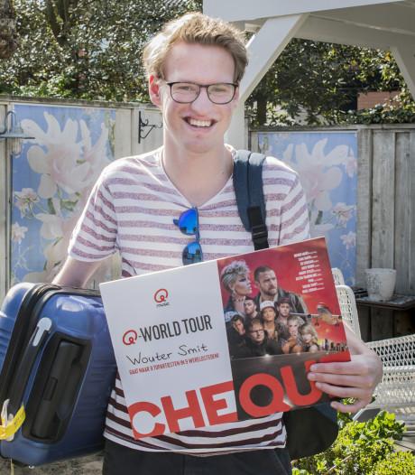 Wereldticket in pocket voor Wouter (19) uit Enschede, nu nog een paspoort