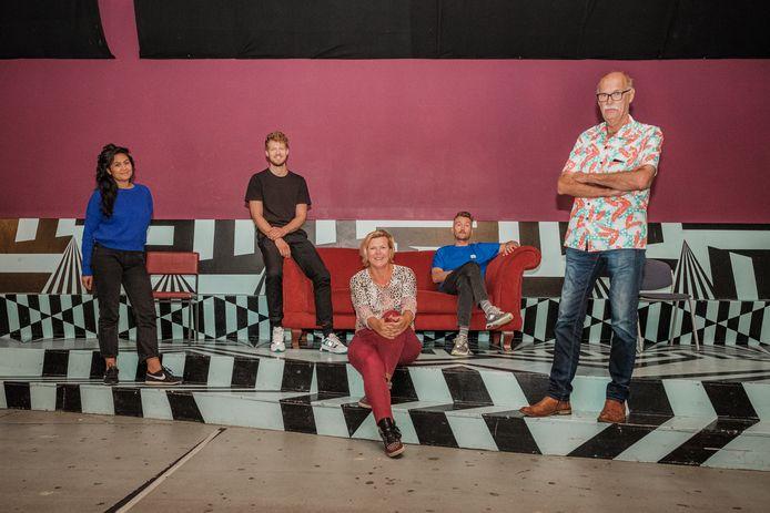 Adinda van Wely, Bart Klouwen, Carola Aafjes, Martin Honings & Ron Jagers.