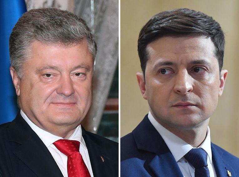 Porosjenko en Zelensky gaan naar de tweede ronde