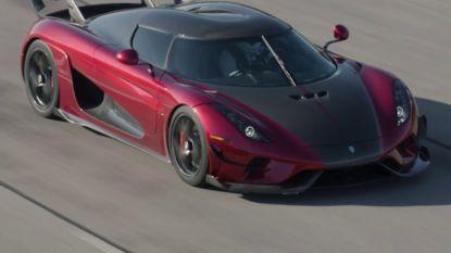 Koenigsegg in recordtijd van 0 naar 400 km/u en terug