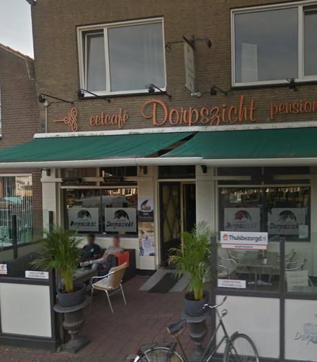 Eetcafé Dorpszicht blijft dicht na ontmantelen hennepkwekerij