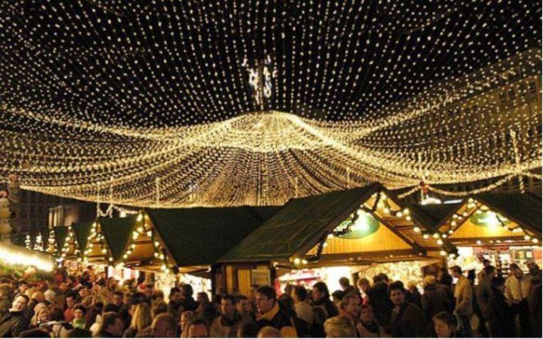 Waregem krijgt eindelijk een echte kerstmarkt.