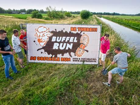 Deelnemers aan Boerdonkse Buffelrun mogen de Aa niet door; organisatie moet andere route verzinnen