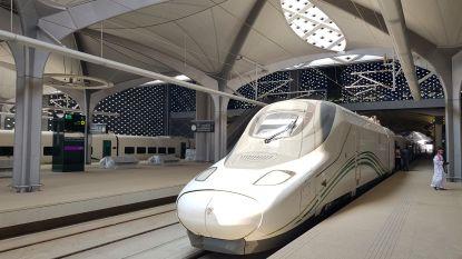 Saoedi-Arabië opent hogesnelheidslijn die twee meest heilige steden van de islam met elkaar verbindt