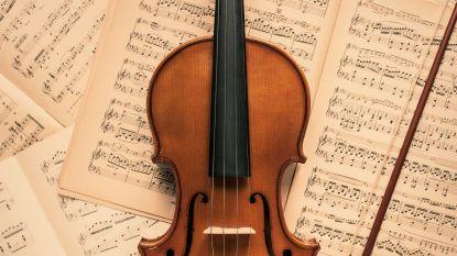 Jonge violisten laten zich horen