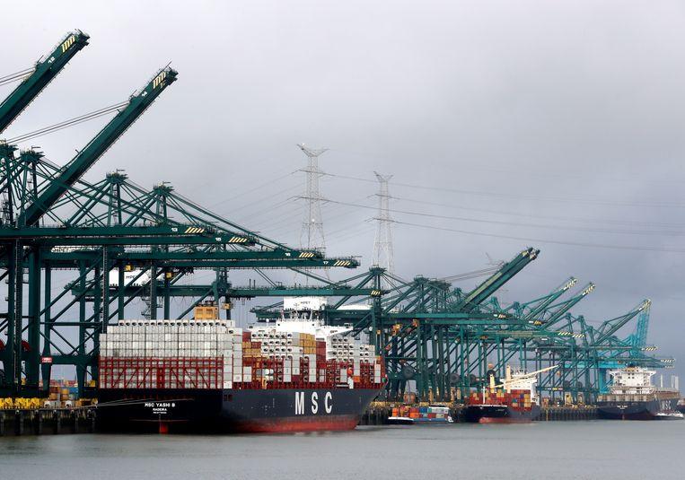Antwerpen wil naar eigen zeggen niets opdringen aan Zeebrugge.
