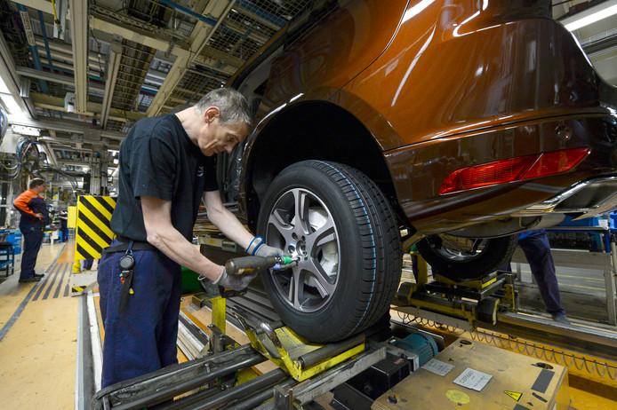 Bij de Volvofabriek in Gent rollen volgend jaar Chinese elektrische auto's van de lopende band