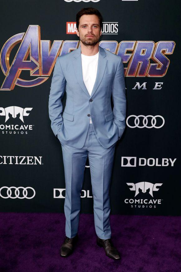 Sebastian Stan, beter bekend als Bucky Barnes oftewel The Winter Soldier.