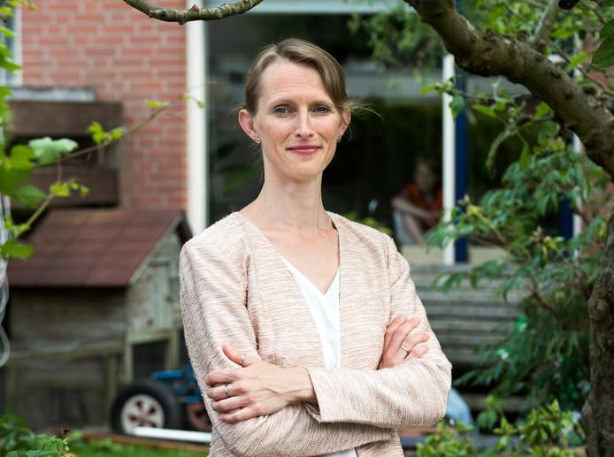 De Houtense wethouder Jana Smith. wethouder: puur ter inspiratie naar Finland.