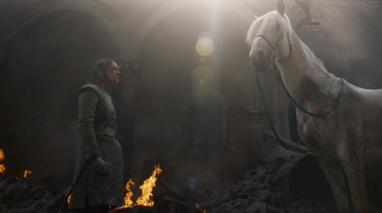 Arya voor de troon?