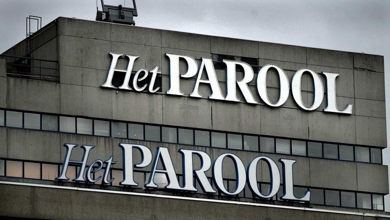 Het voormalige gebouw van Het Parool op de Wibautstraat Beeld anp