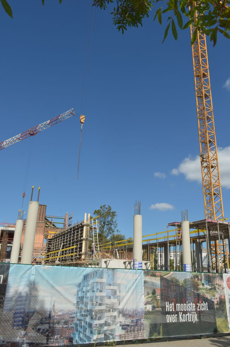 De bouw van de nieuwe K-Tower is gestart.