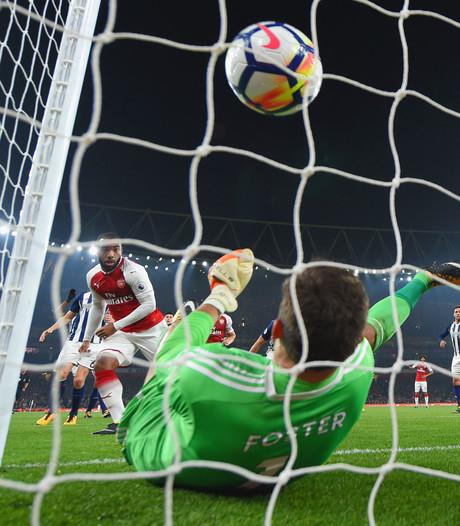Lacazette tweemaal trefzeker bij zege Arsenal