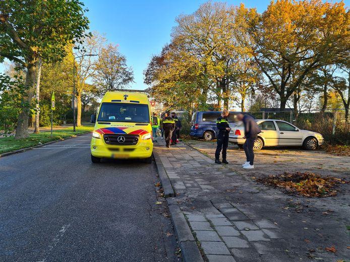 Een gewonde bij een ongeluk in Sprang-Capelle