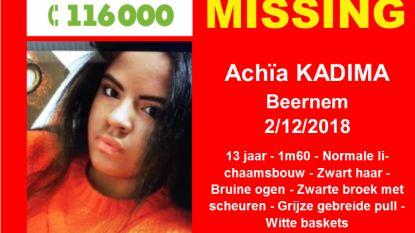 Wie heeft Achïa (13) gezien?