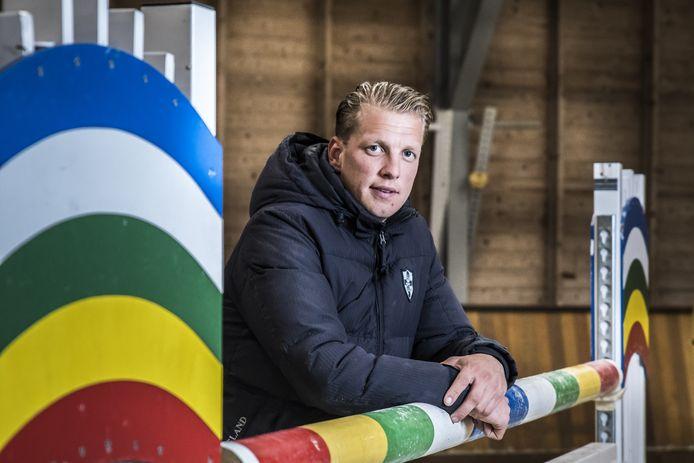 Remco Been, opnieuw de winnaar van de Grote Prijs van Indoor Wierden.