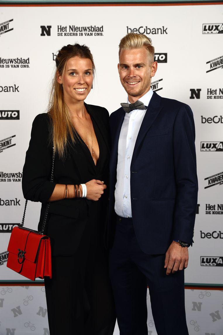 Julien Vermote ging naar huis met de trofee van 'kilometervreter'. En met zijn Laura natuurlijk.