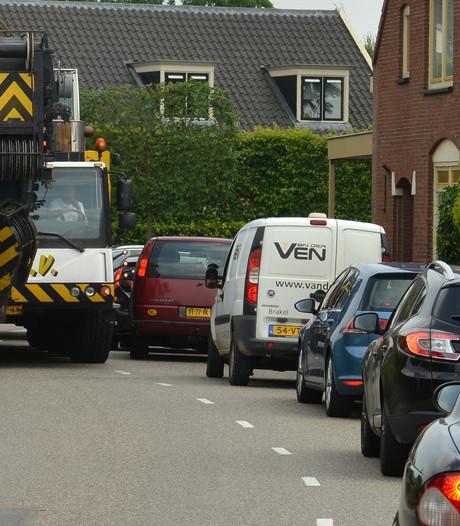 Marja Zuurmond is het sluipverkeer van de A2 langs haar huis helemaal zat