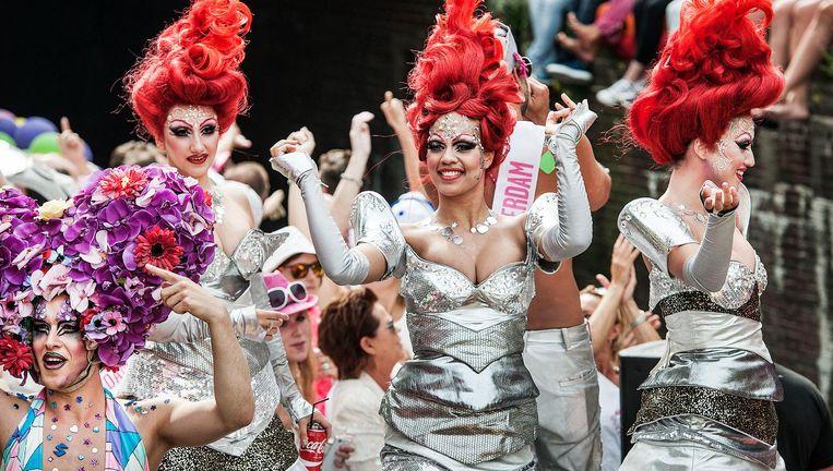 Gay Pride Amsterdam Beeld Guus Dubbelman