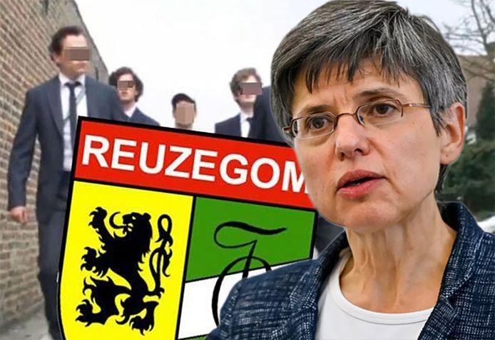 Joachim Meeusen, de zoon van provinciegouverneur Cathy Berx, was lid van studentenclub Reuzegom.