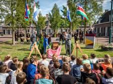 Onthulling oorlogsmonument Lieshout: Veertien verhalen voor de vrijheid