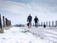 Eerste sneeuw gevallen in Twente, ook morgen kans op witte deken