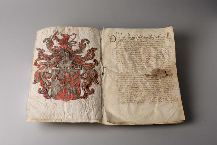 De Koninklijke Bibliotheek (KB) heeft de beloningsbrief van Filips II voor de moord op Willem van Oranje aangekocht.