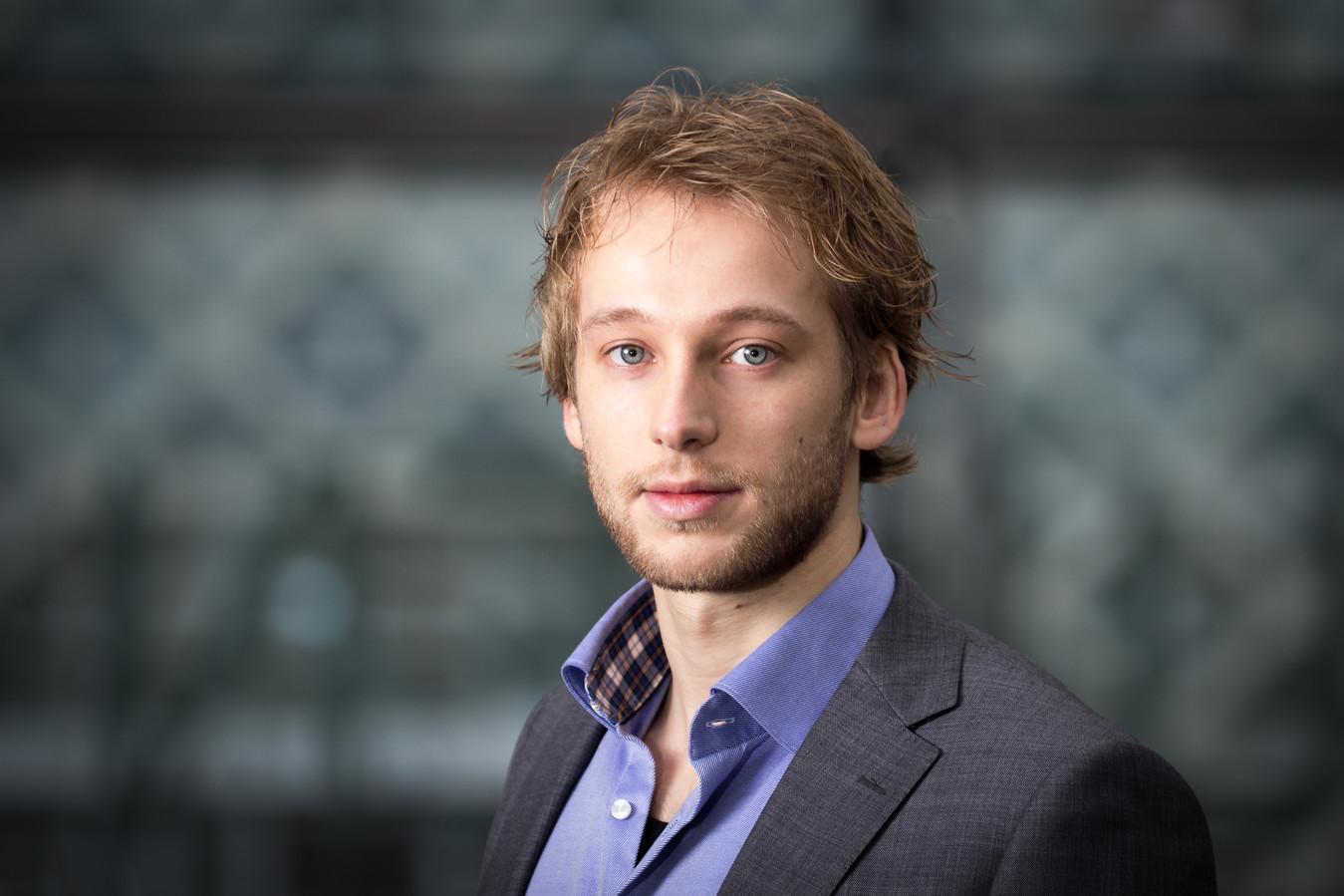 Mark Reijerman (Connect) heeft het onderzoek gedaan naar het niet-inschrijven van studenten in de gemenete Wageningen