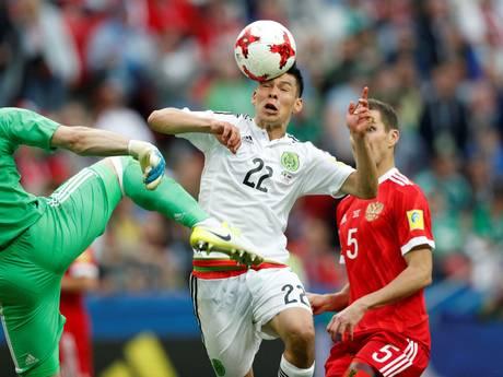 PSV-aankoop Lozano schiet Mexico naar halve finale Confed Cup