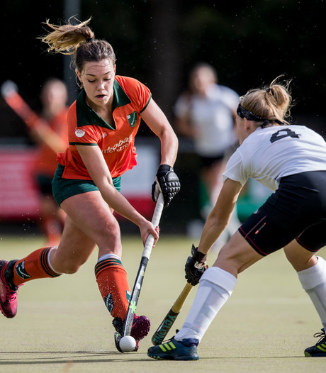 Hockeyvrouwen Eindhoven winnen fors van Warande