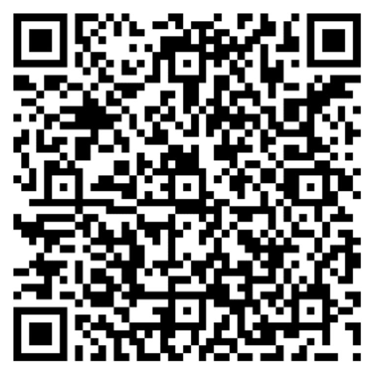 Je kan de enquête ook via deze QR code invullen.